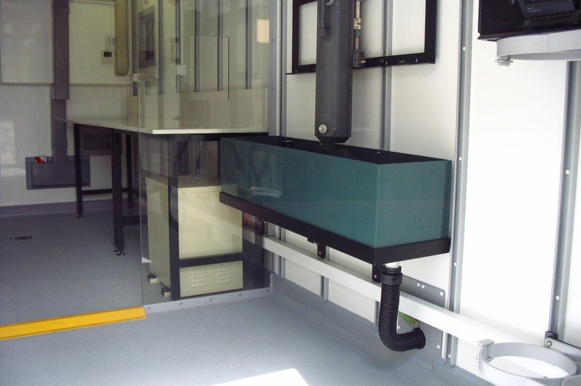 BGC Clean Laboratory inside