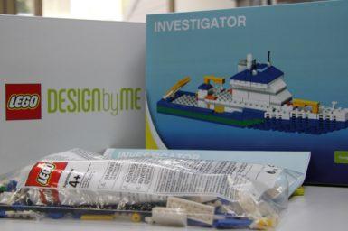 LEGO Investigator packaging