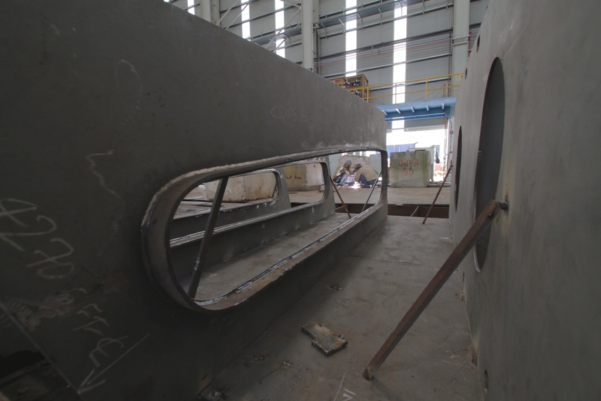 Construction 3 hull pieces