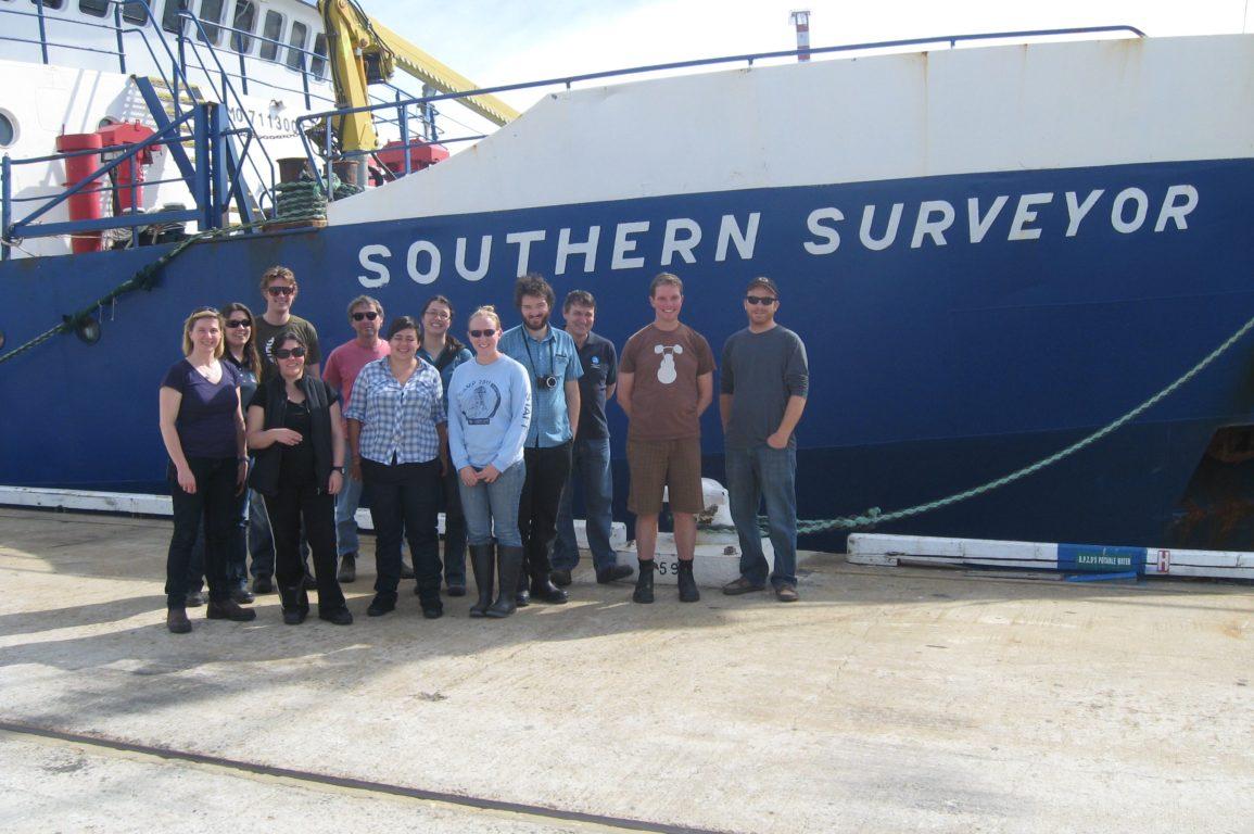 Indian Ocean voyage team