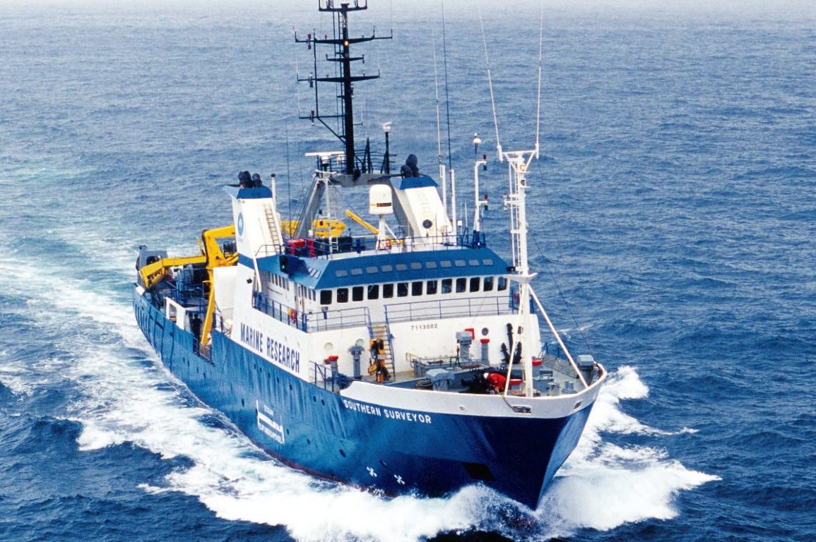 Southern Surveyor at sea