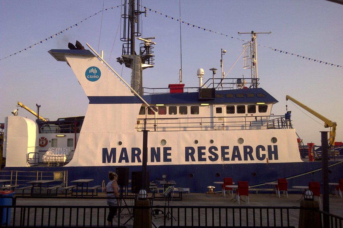 Southern Surveyor free public tours, Darwin 12-14 October 2012