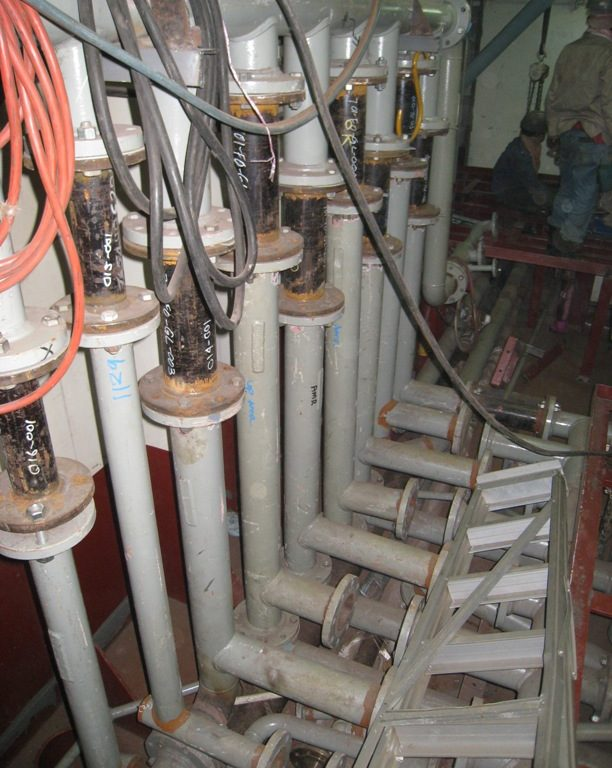 Pipework onboard