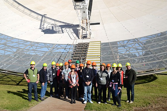 The iconic 64-metre Parkes radio telescope is the setting for a fantastic 3-day workshop for educators to learn about astronomy.