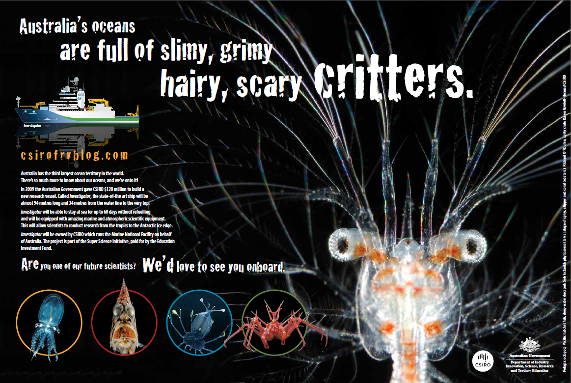 Scientriffic Magazine poster for January/February 2013