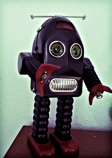 Not these kinds of robots. Image: Flickr / Sebastianlund