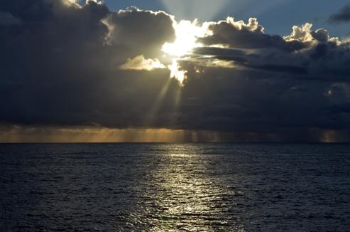 The open ocean (image Tony Hearne)