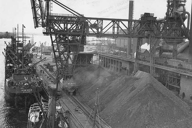 Iron ore processing plant, Newcastle NSW