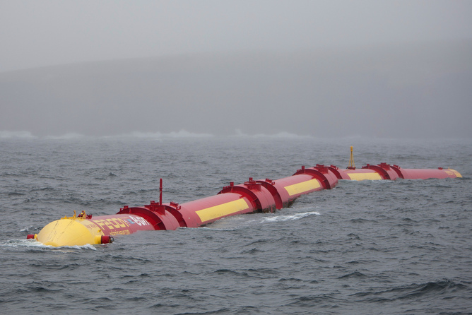 Ocean power can be harnessed for electricity generation using both wave energy and the tide. Image: Scottish Government.