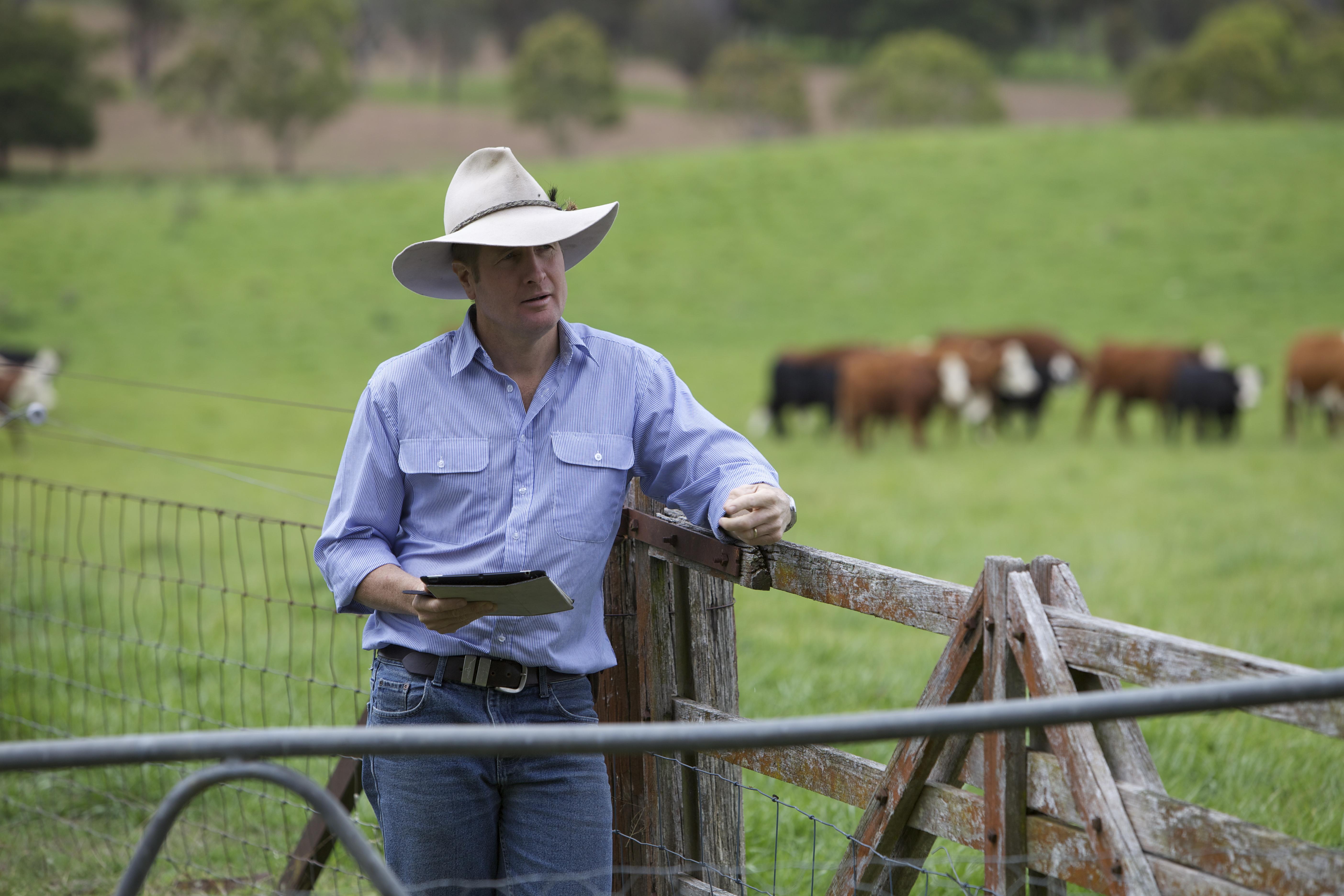Professor David Lamb from UNE on the Kirby Smart Farm