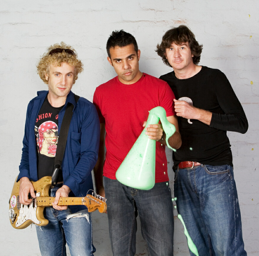 Ologism, Australia's leading science rock band.