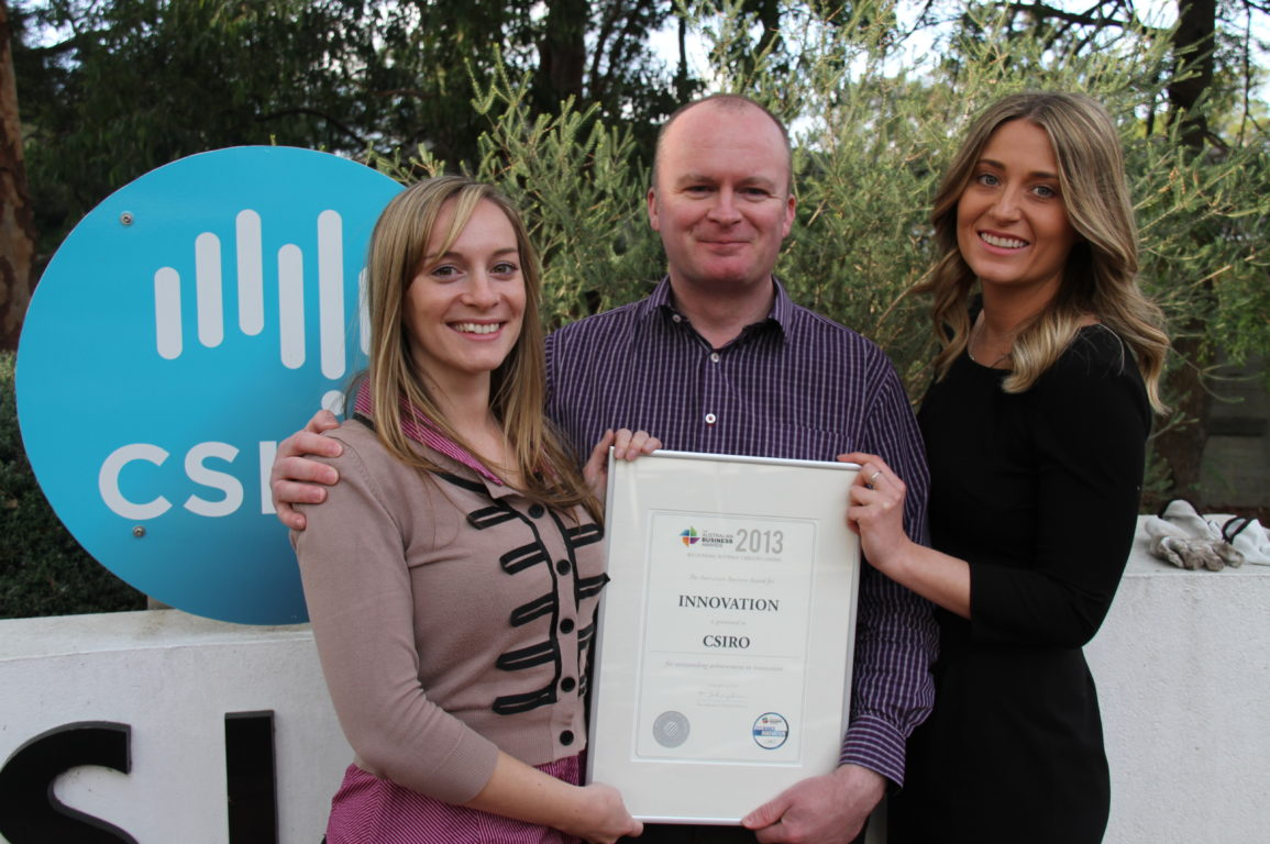 Part of our SME team based in Victoria, from L-R: Carissa Ogden, Michael Egan and Ailsa Gardner.
