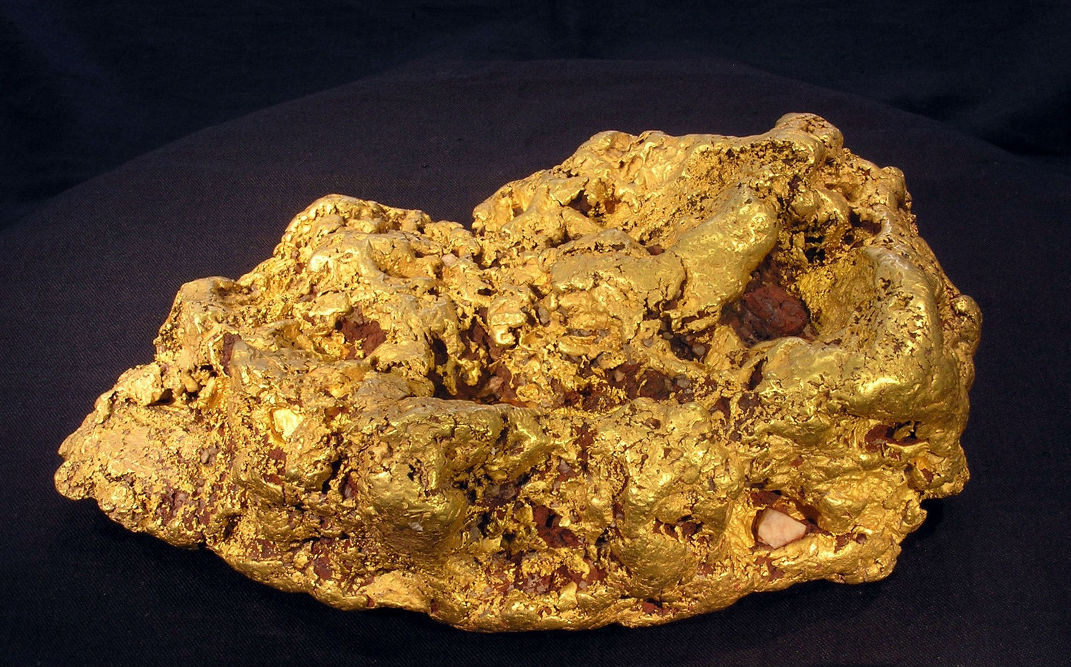 What is a sample of gold