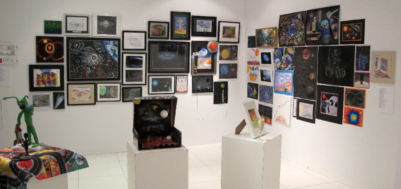The 12 & Under section of the exhibition.