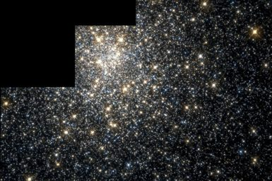 a cluster of thousands of stars