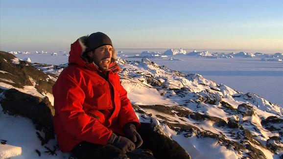 A self portrait Nick captured in Antarctica.