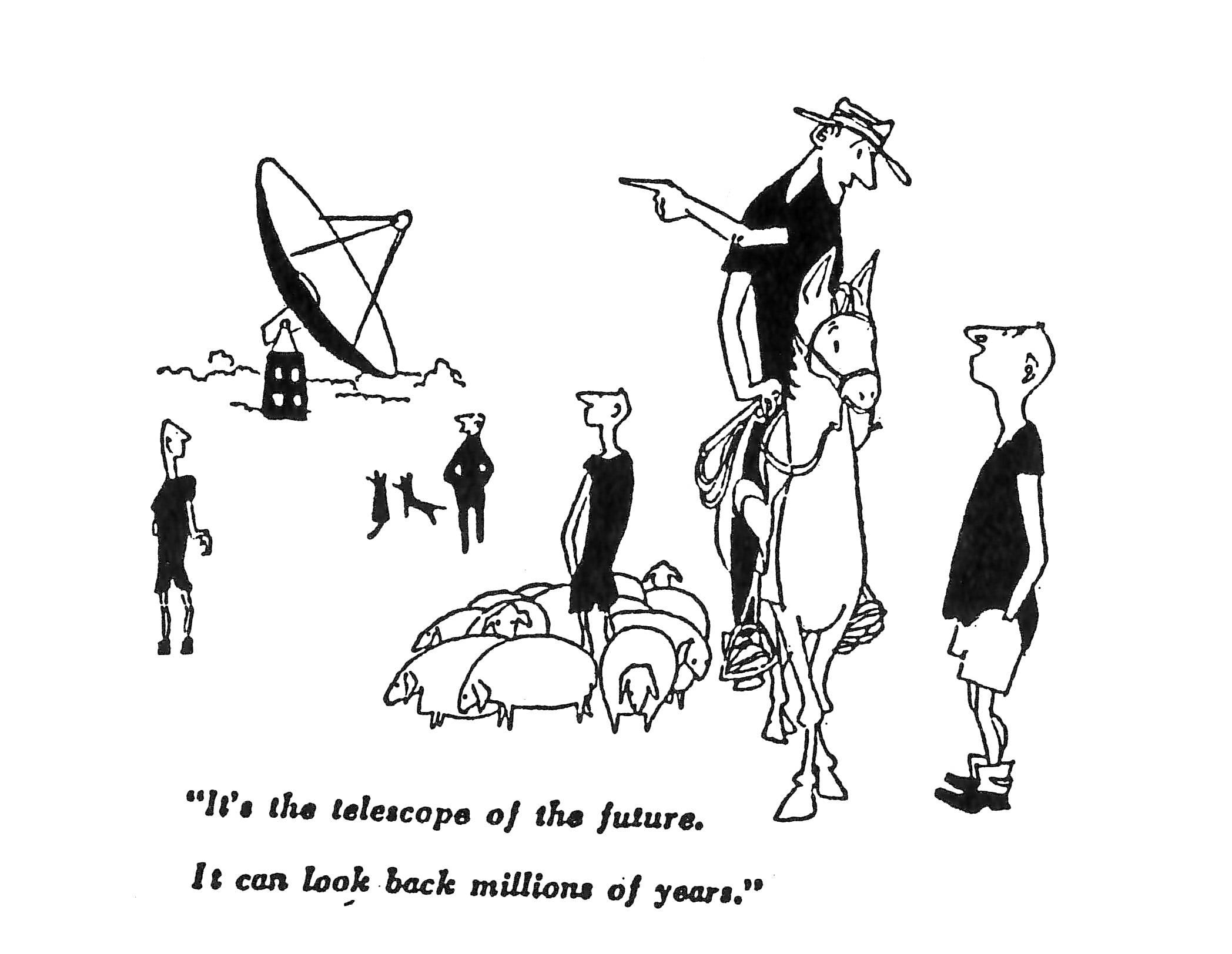 A cartoon by Molnar in the Sydney Morning Herald, November 1961.