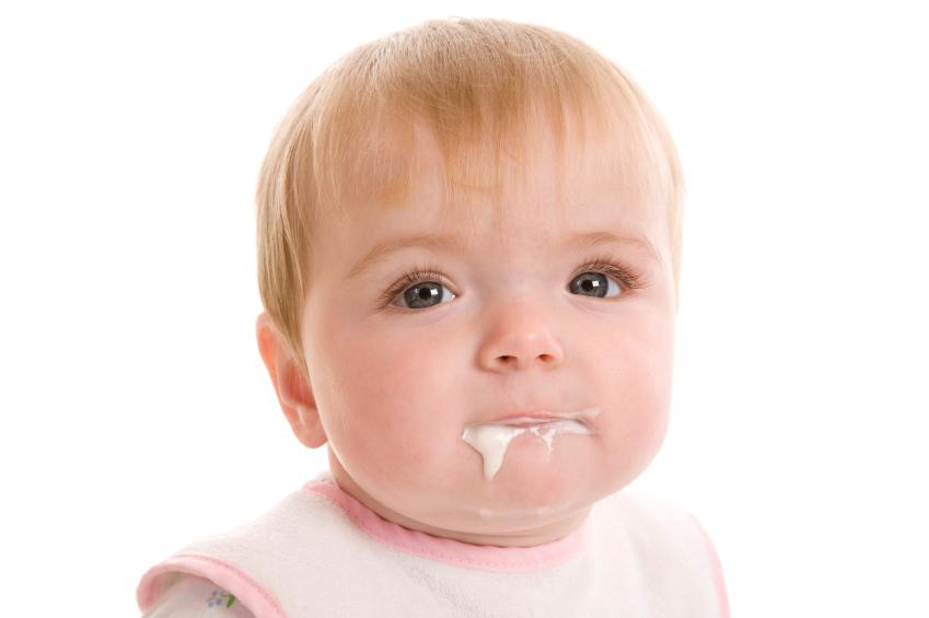 dribbling baby iStock_000017215430Small