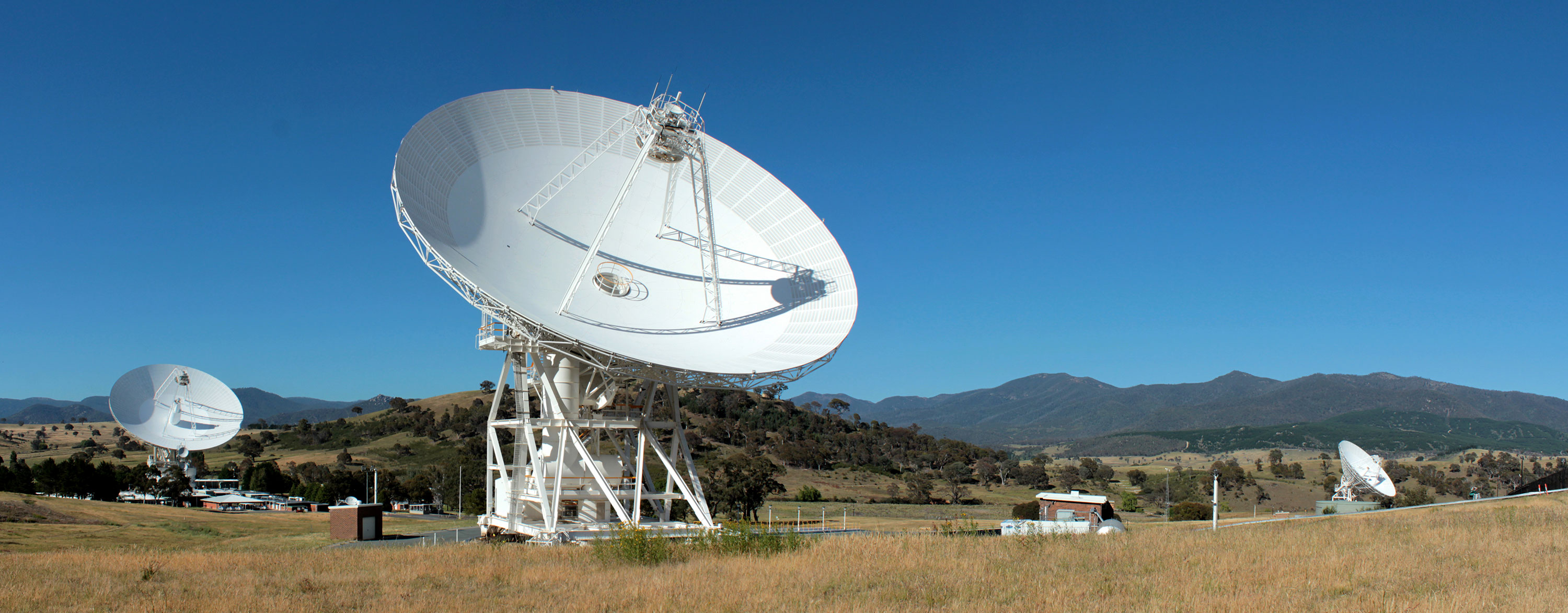 Deep Space Listening: Antennas at the Canberra Deep Space Communication Complex in contact with NASA's MAVEN spacecraft as it started its journey to the red planet. Photo: K.McDonnell