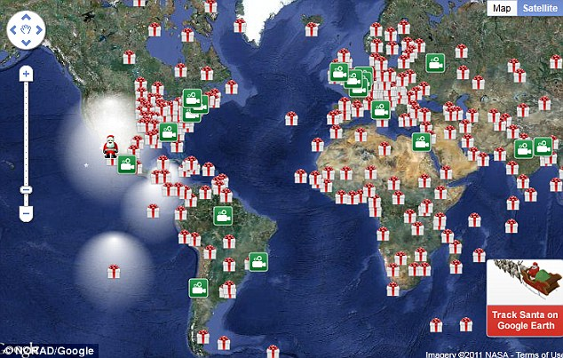 Call Sign: Big Red One - Tracking Santa - CSIROscope on track santa now map, santa fa on a usa map, snow tracker map, easter bunny tracker map, santa is real, bubble map, santa that tracks santatraker, santa county map, santa flying over a map, santa on crack, santa norad finder, santa tracker christmas eve, santa tracer com, santa map progress, google earth santa tracker map, santa movies, santa games, north pole map,