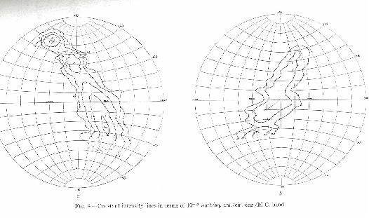 Two contour maps