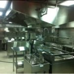RV Investigator's mess and galley