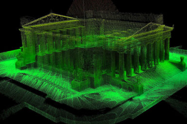 3D map of The Shrine of Remembrance, Melbourne