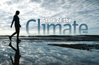 State of the Climate 2014 report cover