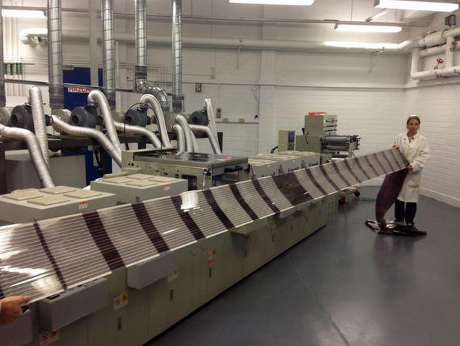 Solar cells printing.