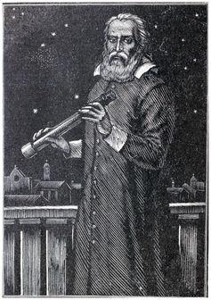 Engraving of Galileo