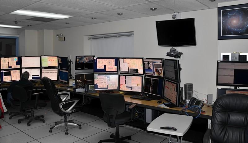 The Gemini control room.