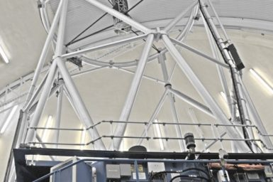 The Gemini telescope.