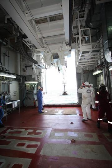 RV Investigator sea trials (image CSIRO/Matt Sherlock)