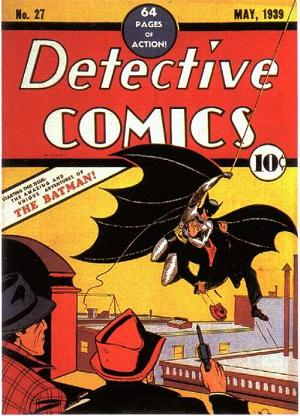 The front cover of Detective Comics Vol 1 #27