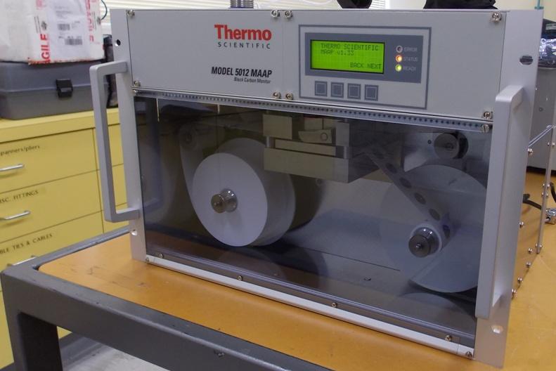 RV Investigator's multi angle absorption photometer (MAAP)