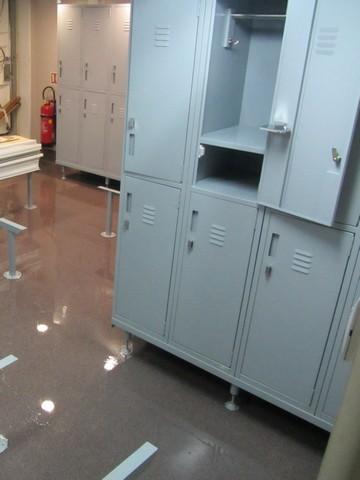 RV Investigator's change room