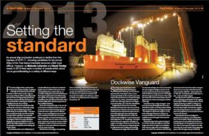 IHS Maritime 360 - Ships of the year 2013