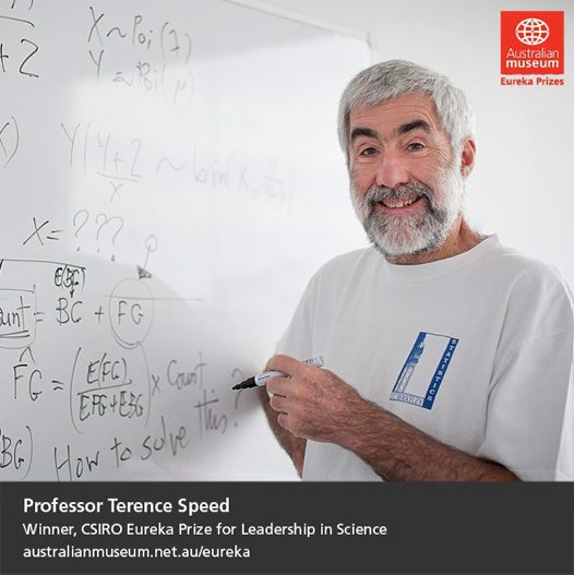 Dr Terence Speed.