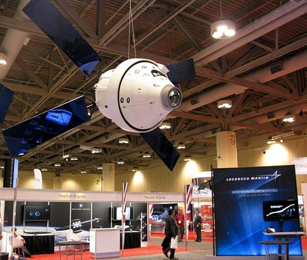 Lockheed Martin's Orion Multi-Purpose Crew Vehicle.