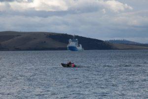 RV Investigator arriving into port (image MNF Mike Jackson)