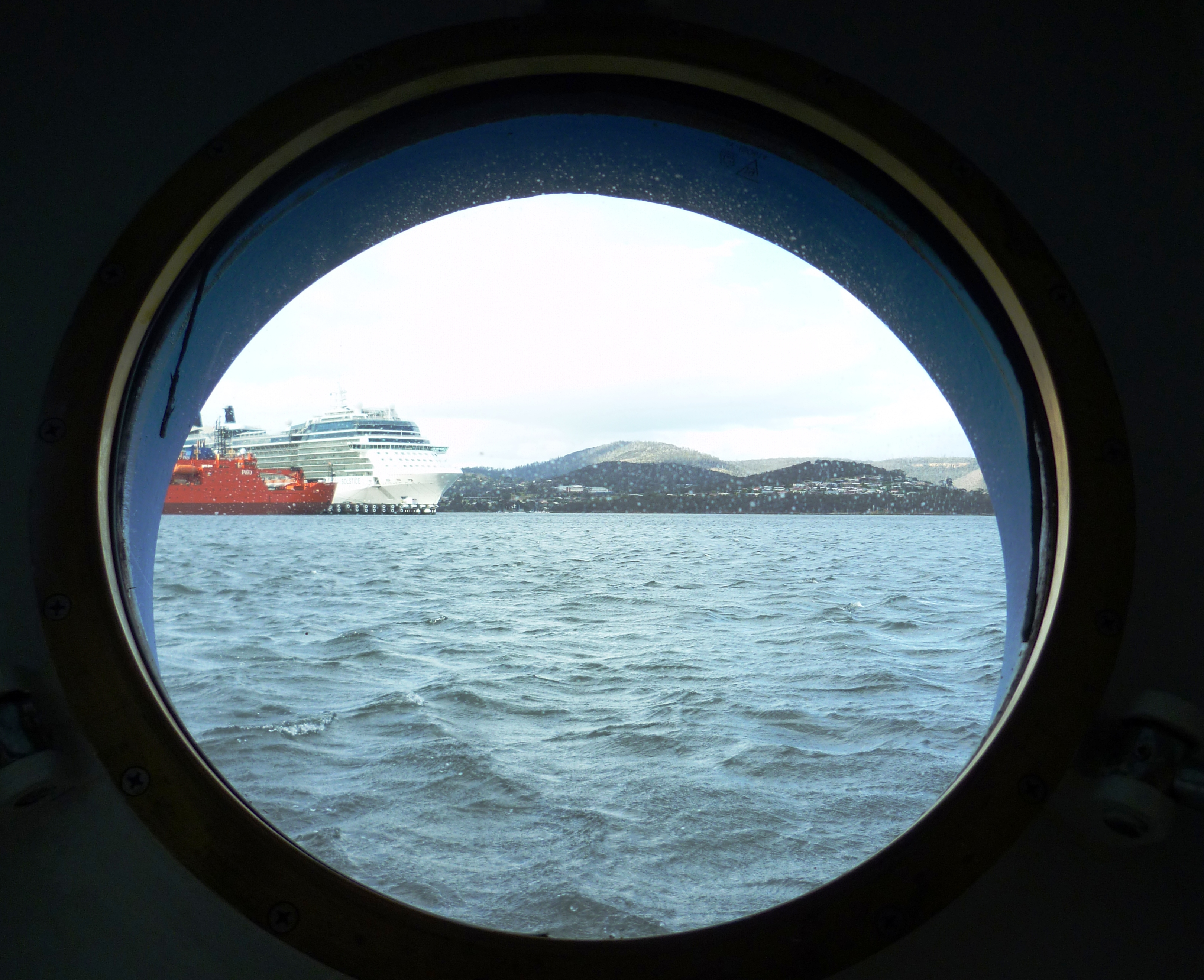 View from porthole