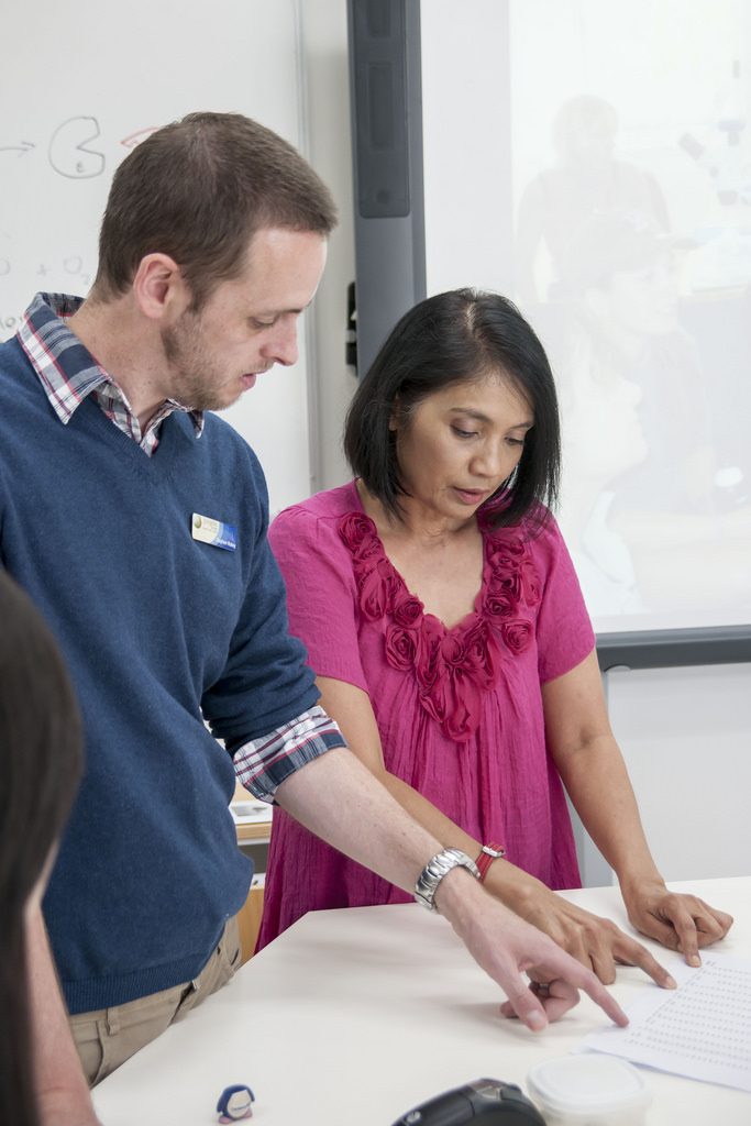 Maths partnership between Stephen Robey from Gungahlin College (ACT) and Billie Ganendran of University of NSW, Canberra (ADFA)