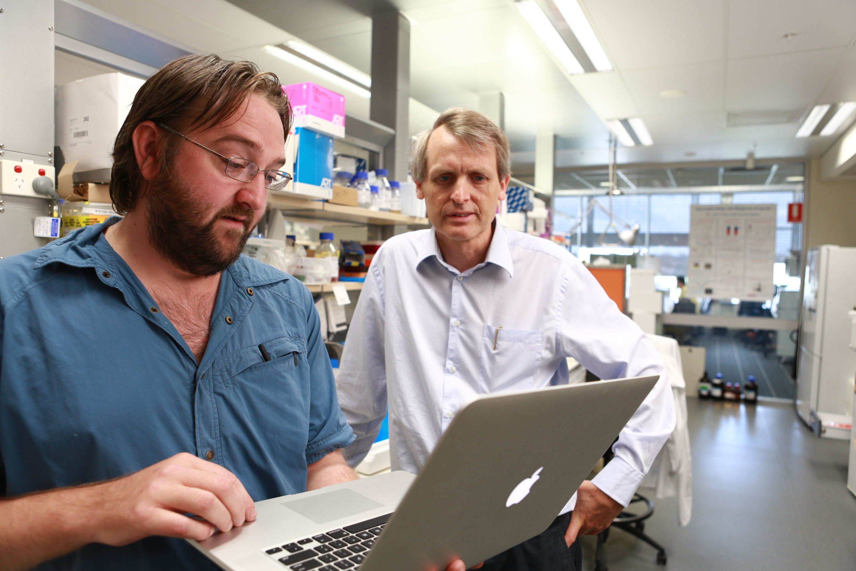 Dr Adam Hill and Professor Jamie Vendenberg are driving this groundbreaking research.