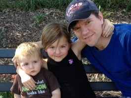 Chad and his kids