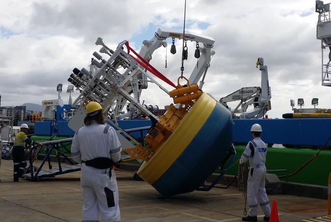 RV Investigator - maiden voyage preparations 5