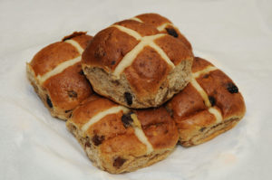 Don't get cross with the hot cross bun, we all need to exercise restraint.