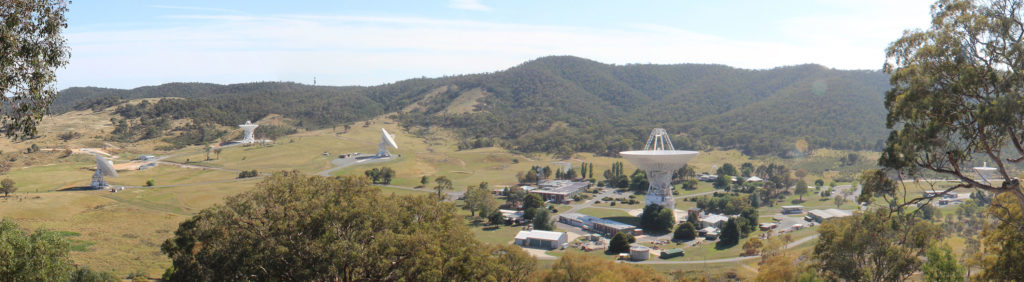 Listening for Whispers: Canberra Deep Space Communication Complex.