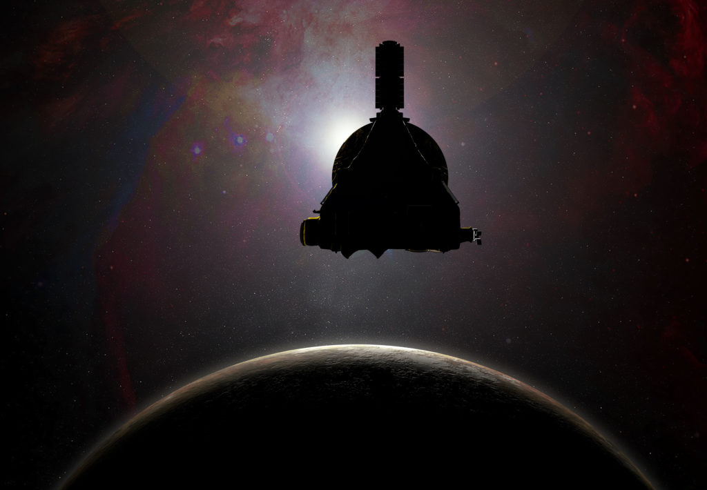 INTO THE DARK: New Horizons' journey continues beyond Pluto. Stay Tuned. Image: NASA/APL/SwRI