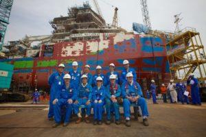 Singapore Site Team for RV Investigator