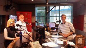 Toni Moate, Brian Griffiths, Ryk Goddard 20150909 RV Investigator arrives in Hobart